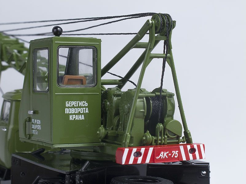 SSM1100 Crane truck AK75V (ZIL-130) /khaki/