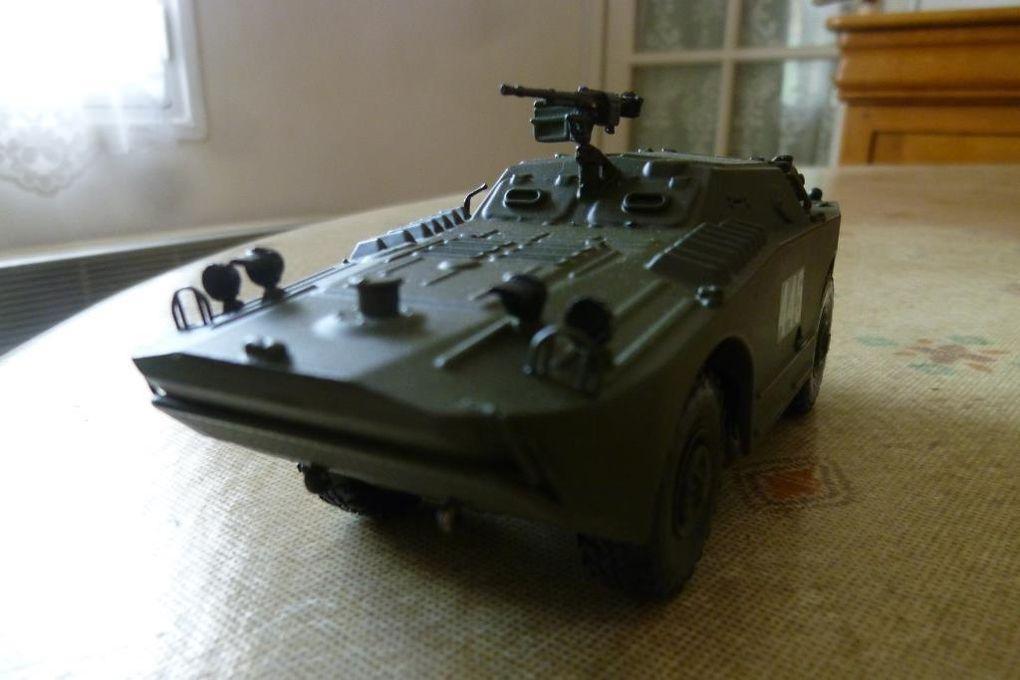 Diaporama  : le BRDM 1 de chez Scale (Photos Hervé C.)