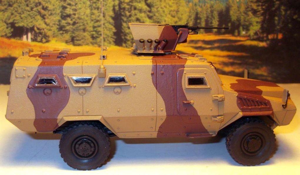 Diaporama : ACMAT Bastion APC, en livrée camouflée sable, monté et peint par françois T.