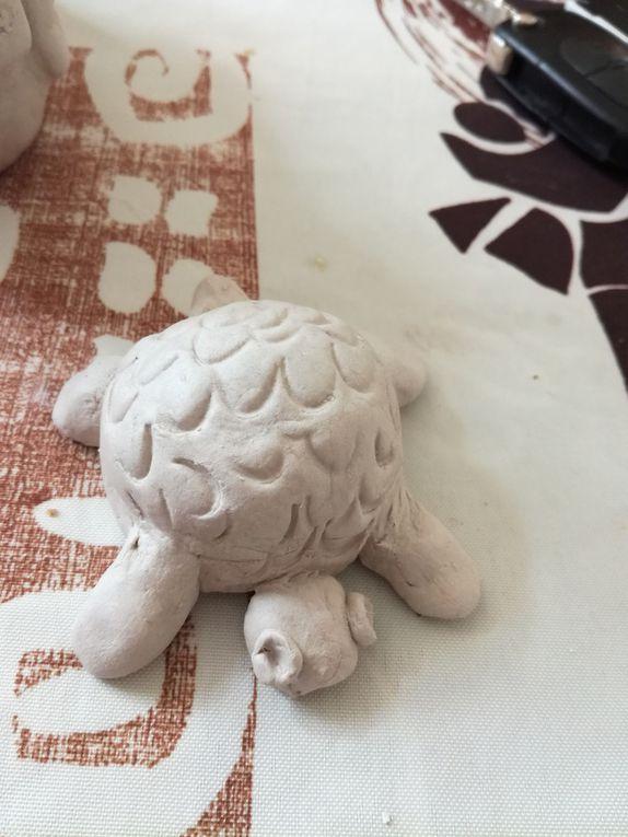 L'amie tortue de Lorenzo ( 4 ans )