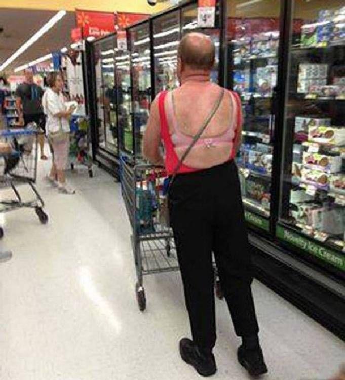 Aux States, on voit des choses étranges dans les magasins.