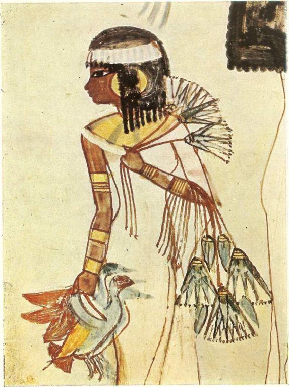 La &quot&#x3B;Lumière de lune tissée&quot&#x3B;, dans cette civilisation du linge, y avait-il une mode masculine ?... (2) en Égypte ancienne !