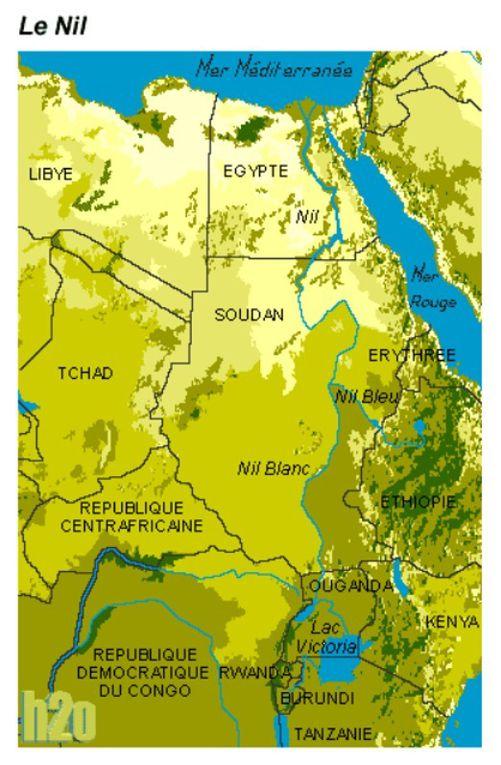 L'aridité de la vallée antique finira-t-elle aujourd'hui par la disparition finale du Nil ?... en Égypte ancienne !