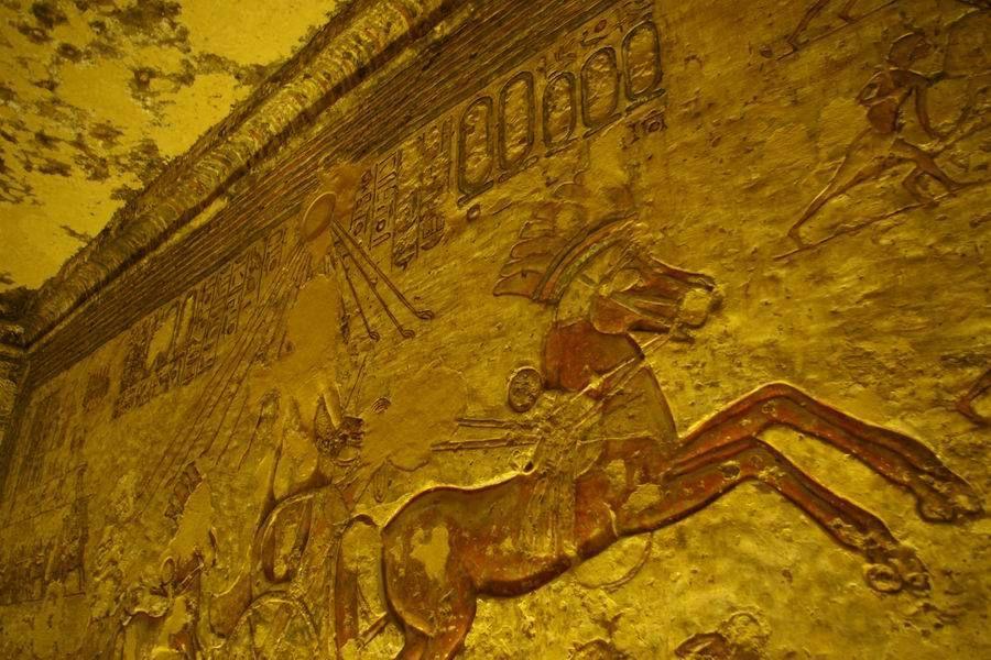 L'arrivée des chars... (1) en l'Égypte ancienne !
