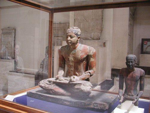 Nous sommes bien au sein d'un rouage zélé, d'une fantastique et indispensable machine administrative ! (1) En Égypte antique !