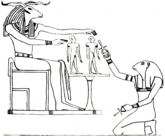 Voici un témoin vivant de la naissance du monde, Héqet, d'Herour à Hermopolis... ! (5) En Égypte ancienne !