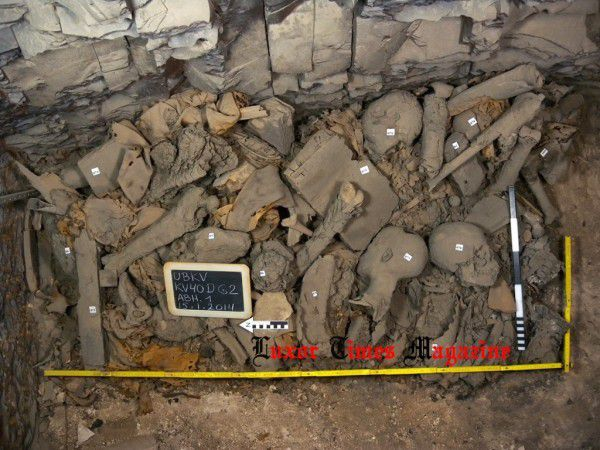 &quot&#x3B;Découverte&quot&#x3B; d'un vaste hypogée d'enfants royaux de la 18e dynastie dans la Vallée des Rois, KV40(b)(?) en Égypte antique !