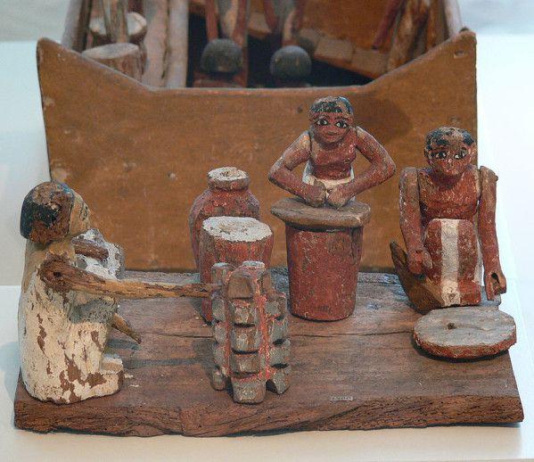 &quot&#x3B;L'Égypte ancienne aurait moins d'attraits s'il n'y avait les Égyptiennes&quot&#x3B;, l'empire des femmes et la cuisine... ! (4) En Égypte ancienne !