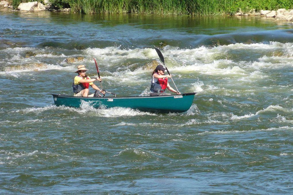 Fin juin :  Regroupement sur la Loire