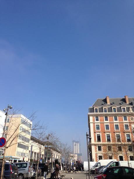 Le ciel hier à 2 h 00 d'intervalles ( photos prises du bureau )