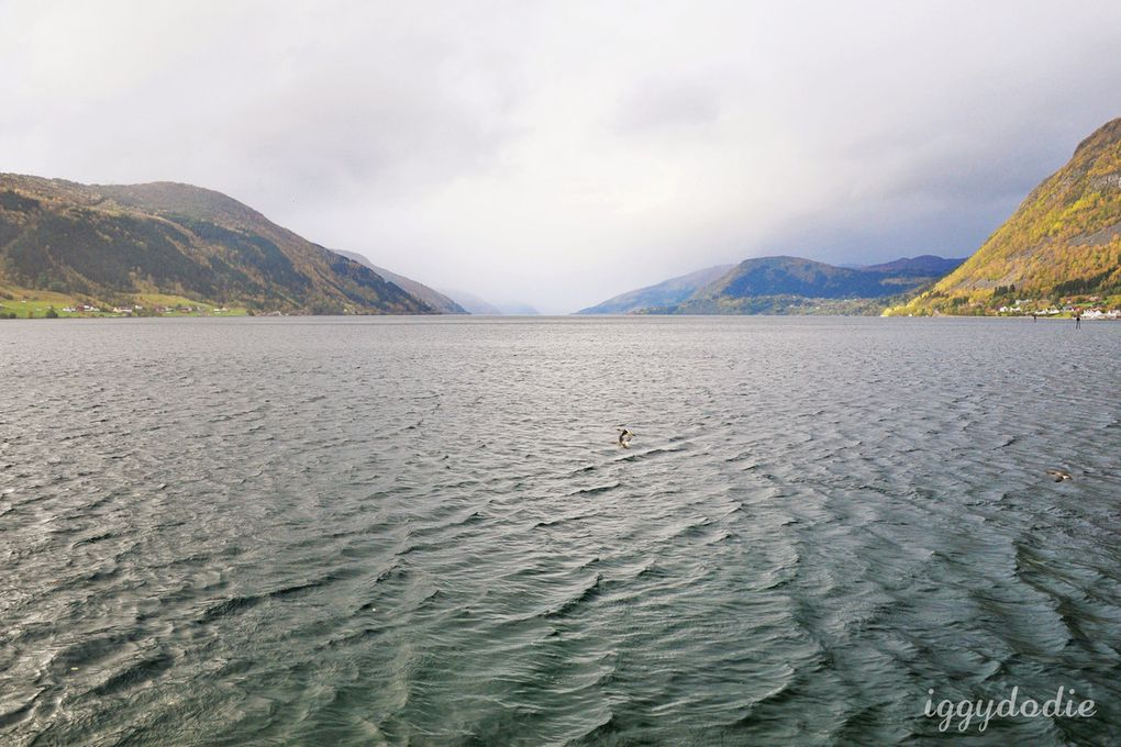 De retour de Norvège