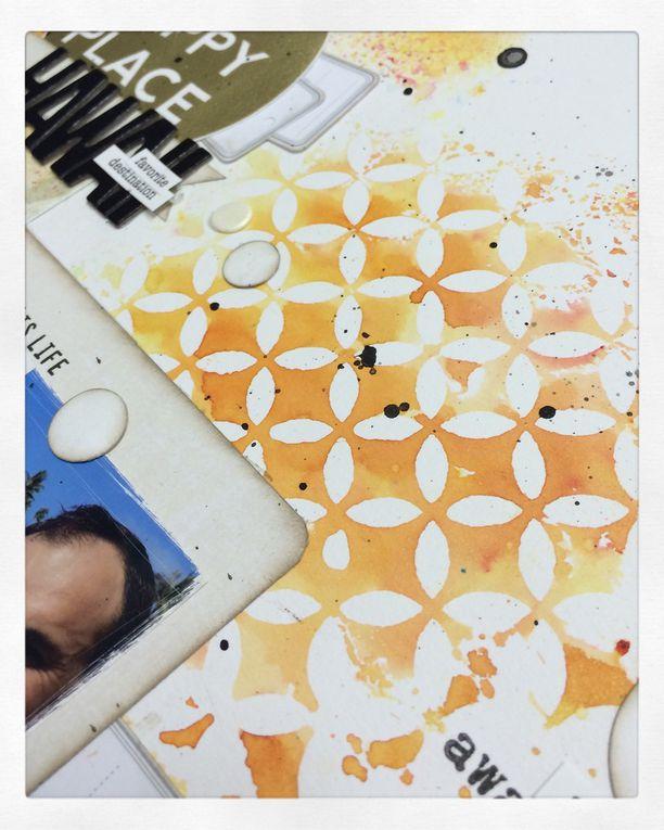 2 pages en color burst
