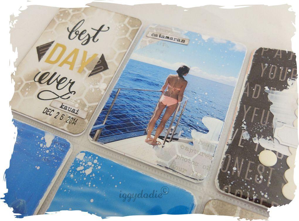 Les pages Project Life de Novembre 2015