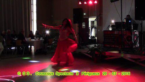 Photos - Vidéo couscous-Spectacle du 20-03-2016 à Périgueux