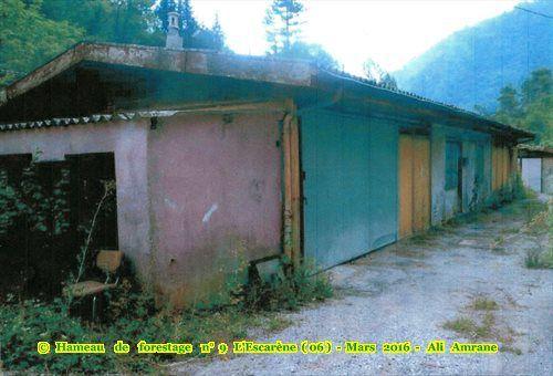 hameau de forestage n°9 L'Escarène (06)