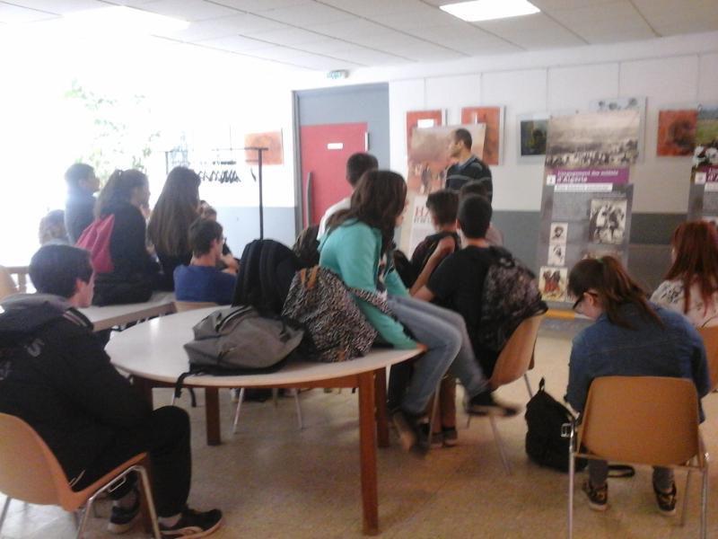 Visite pédagogique à la MHeMO de Ongles du mardi 26 avril 2016