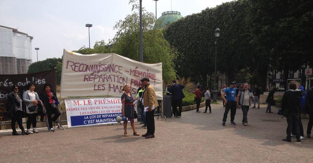 rassemblement harki du samedi 28 mai 2016 dans le nord et dans le sud