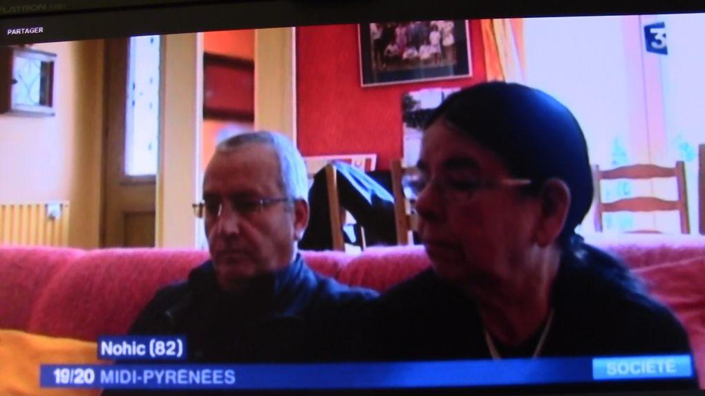 Interview fr 3 Midi-Pyrénées de Mohamed djafour génération harki à nohic  (82) 15 Octobre 2016