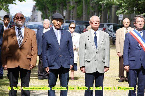 Vidéos- Photos - Commémoration Abandon des harkis 12 mai 2017 à périgueux Dordogne (24)
