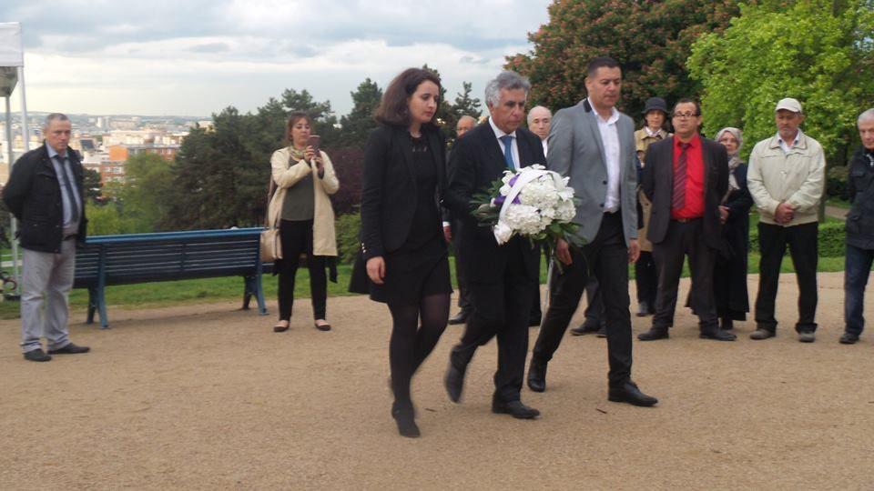 Commémoration abandon des harkis du 12 mai 2017 à Paris (75)