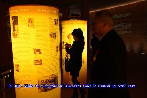 L'association harkis Dordogne visite le mémorial de Rivesaltes (66)