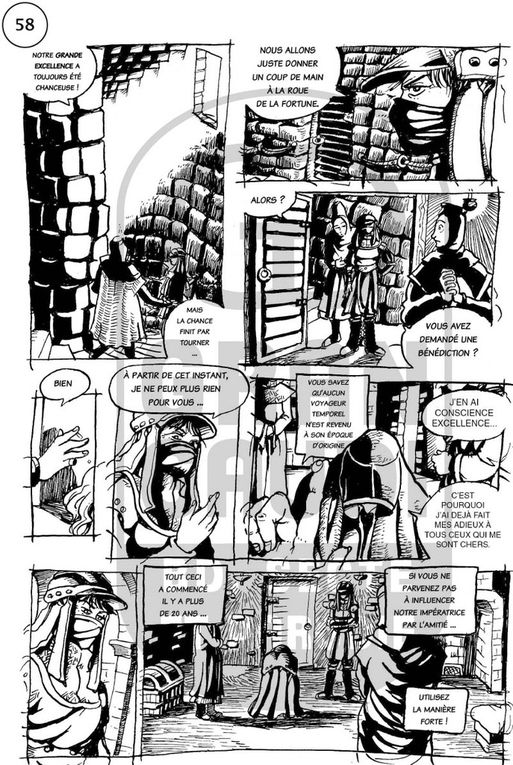 N.N.R., dessinée par Tolden et publiée dans le fanzine Gran Gaudi.