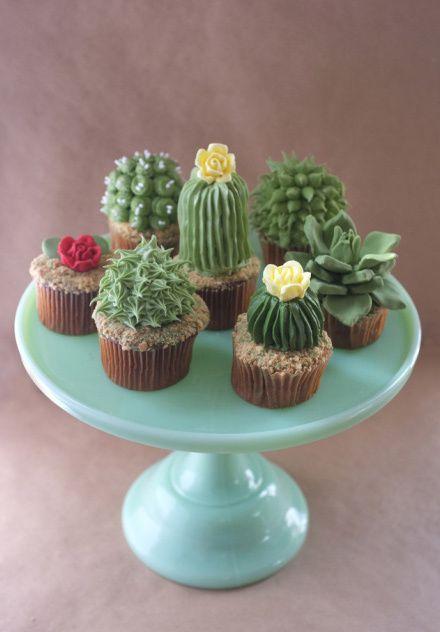 Décorations amusantes des cupcakes, pour les enfants notamment.