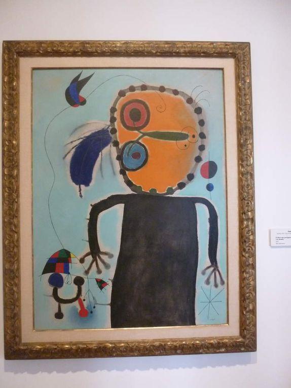mais aussi d'autres oeuvres de Picasso Dali Miro Chagall
