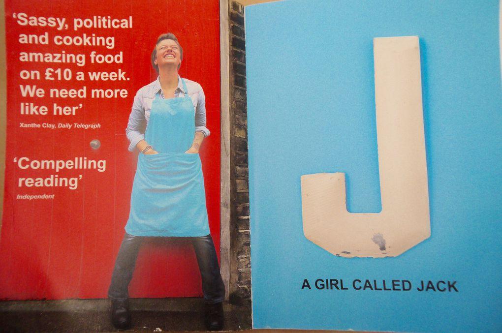 La double deuxième page de A girl called Jack. Curry de lentilles à la tomate (version avec des courgettes)