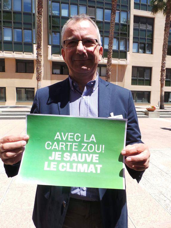 Les  écolos de la Région PACA agissent pour #sauverleclimat...