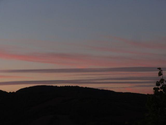 Ciel rosé du soir