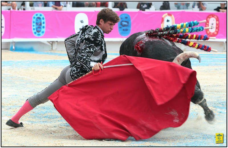 ... ARLES ... FERIA DU RIZ 2015 ... CORRIDA GOYESQUE DU 12 SEPTEMBRE 2015 ... TRIPLE PUERTA GRANDE ...