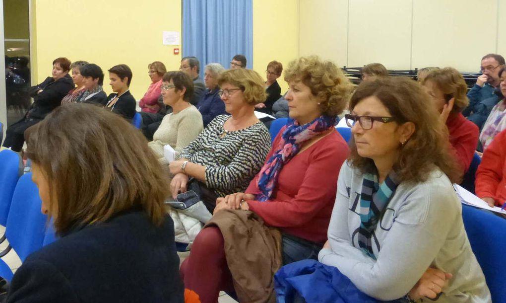 Un public très attentif