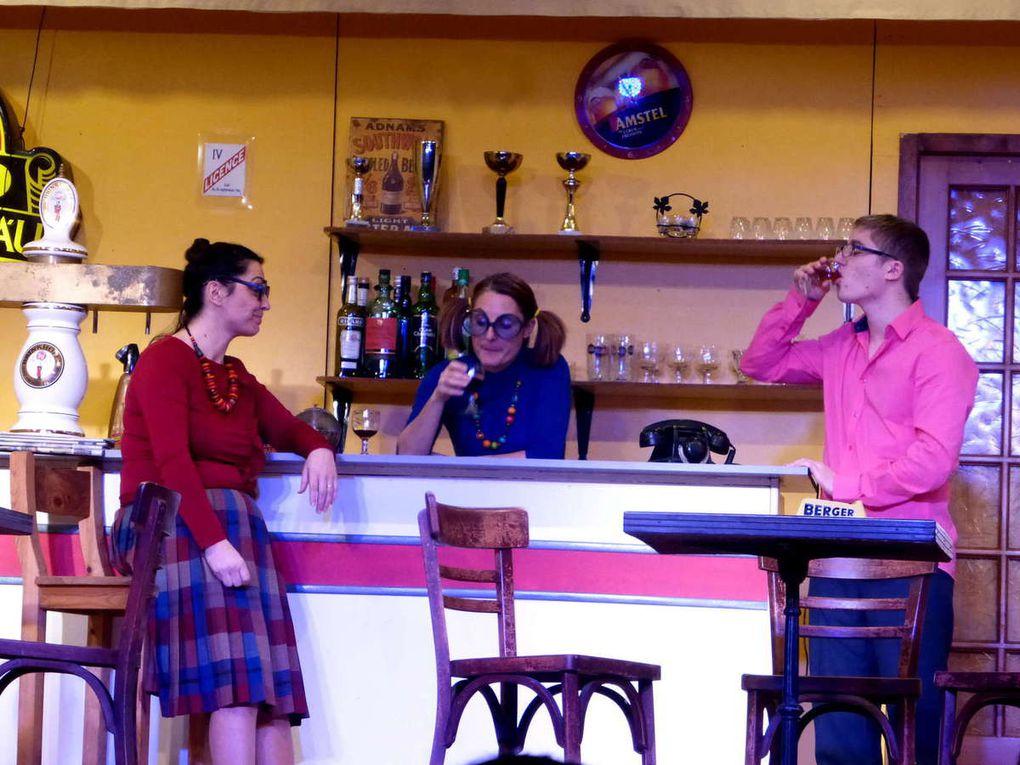 """Le bar de Gégé sert de décor pour """"Y a pas de cales en bourg"""" de Jacky Lesire"""