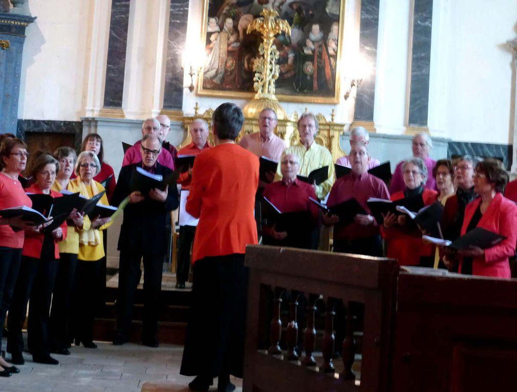 Racan chante sous la direction de Marie-Jo Thibault