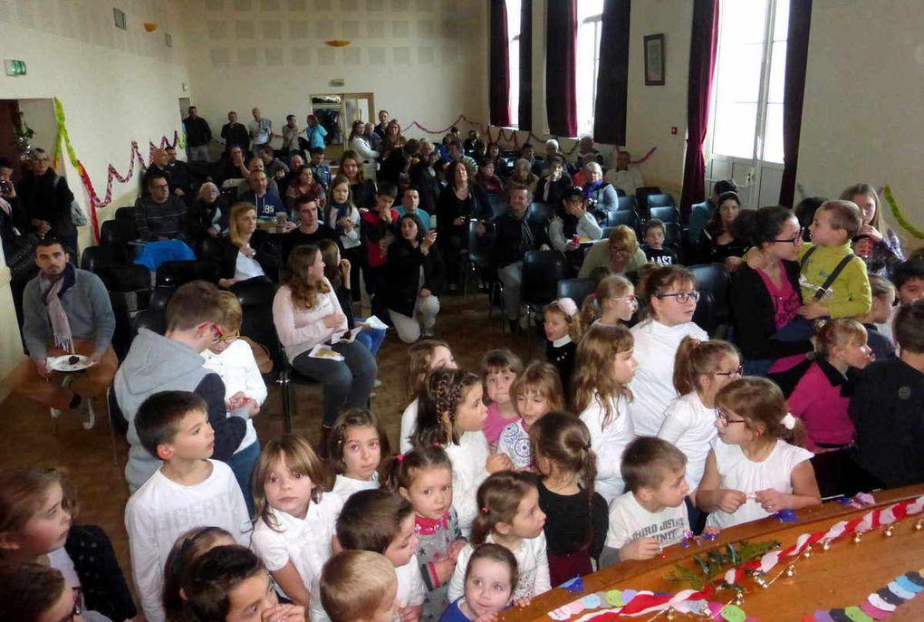 Fête de Noël pour les enfants du RPI Bueil-Villebourg