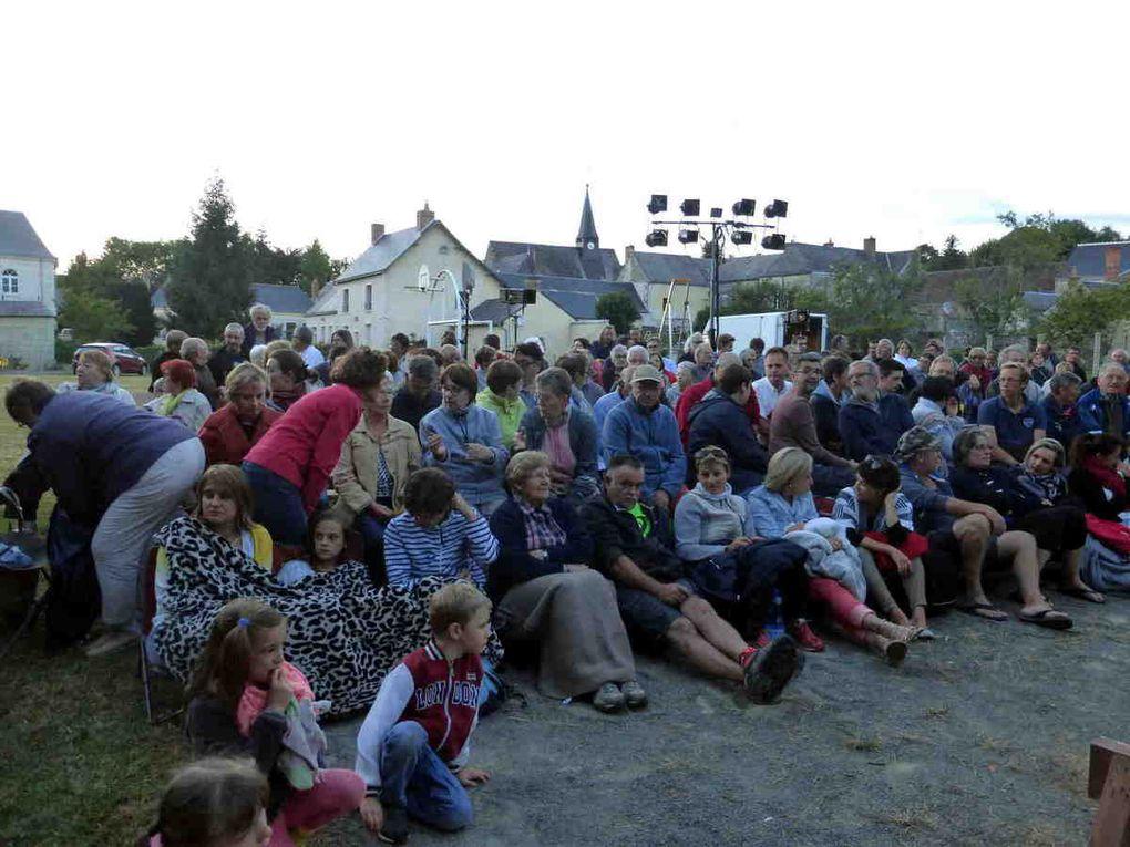 Un très nombreux public pour assister à la représentation de Fracasse !