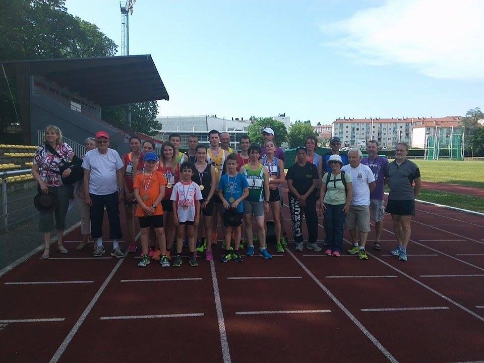 Championnats de Franche-Comté de Marche (Besançon, 06/06/15)