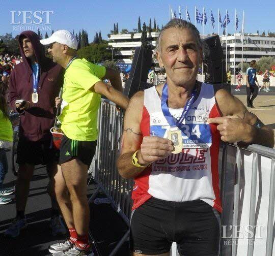 Lucien Chakabe : l'homme aux 90 marathons