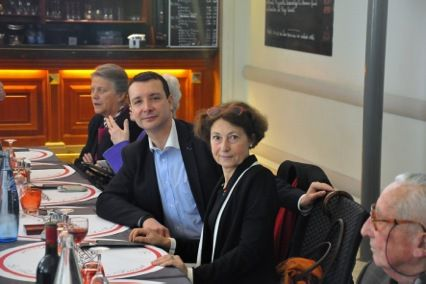 Déjeuner gaulliste de l'UGF, Paris le 28 mars 2015