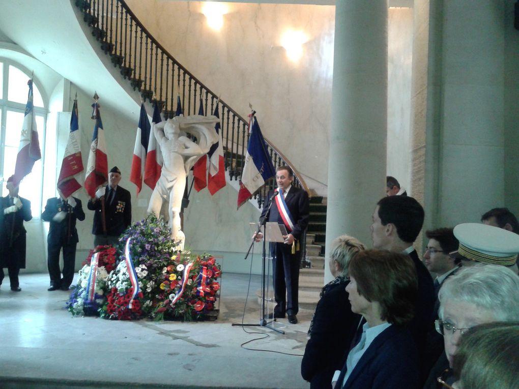 Avec la présence à Paris du président national de l'UGF et de Michel Julia secrétaire général et de Christophe Sencier, secrétaire général adjoint, à Limoges.