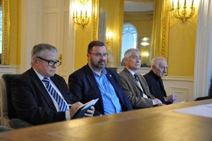 Assemblée générale de l'UGF en mairie du 9ème ardt de Paris.