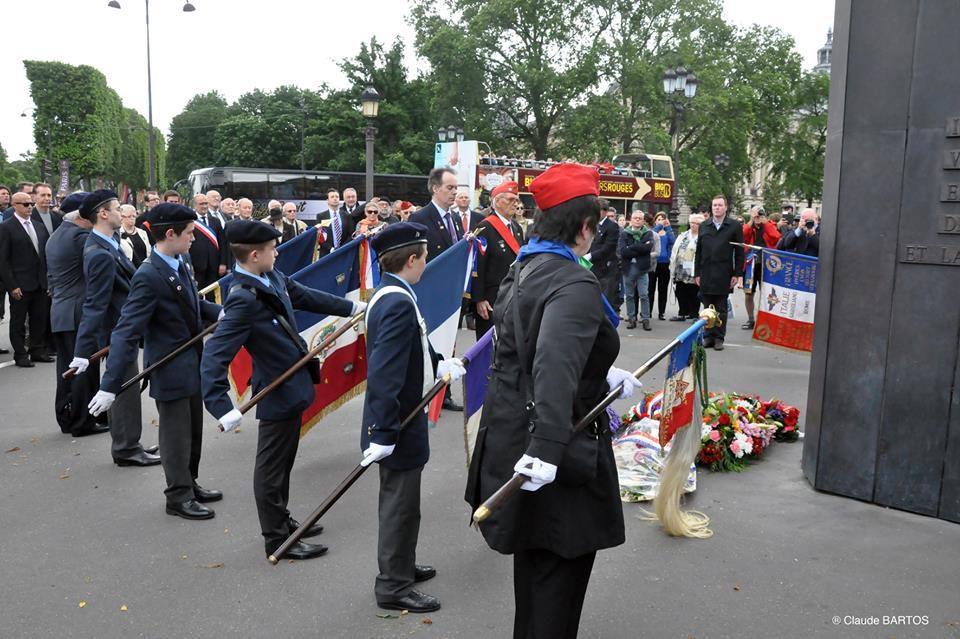 L'UGF à Paris et Marseille ce 18 juin 2016.