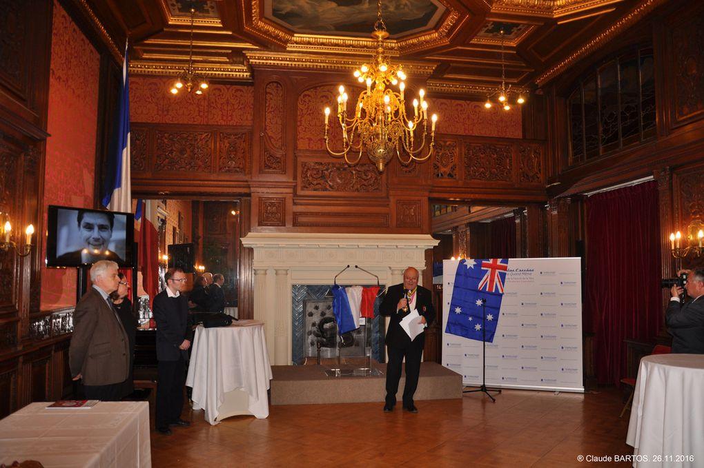 Les photos de la cérémonie du 26 novembre 2016