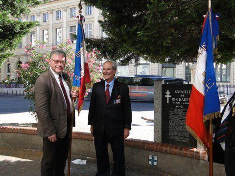 Bataille de Bir-Hakeim: une commémoration exceptionnelle à Marseille avec l'UGF et la Fondation de la France Libre!
