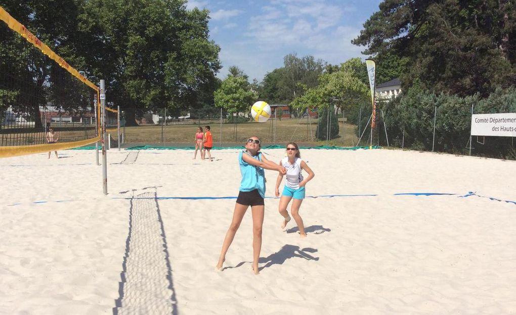 Stage de beach Volley au pôle de Châtenay