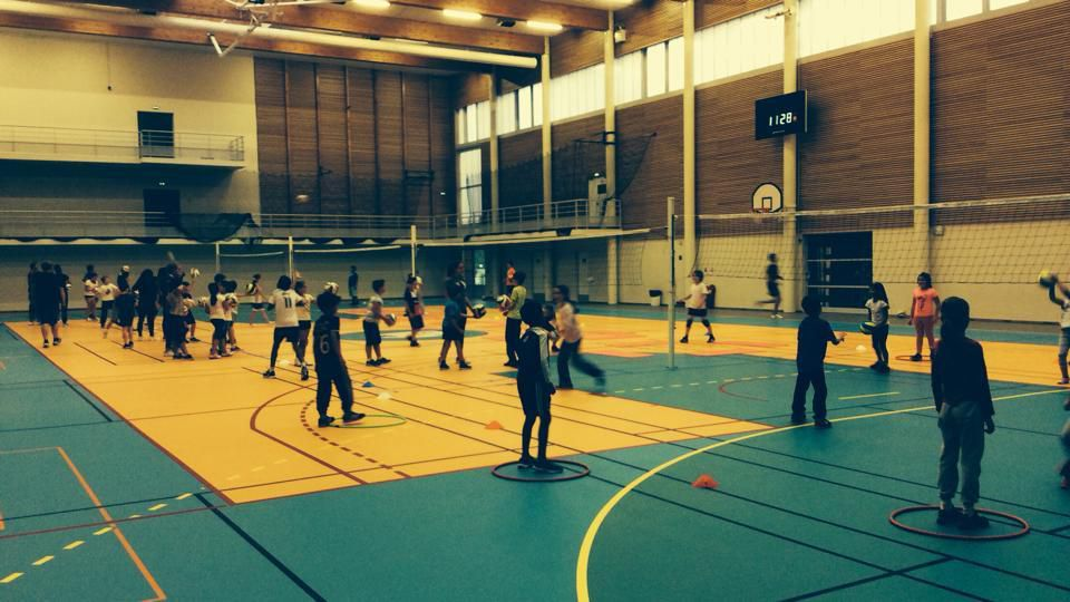 Entrainement M11 Volleyball AS Villebon