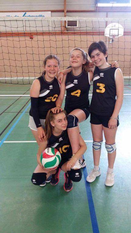 Résultats weekend du 21 &amp&#x3B; 22 Mai - AS Villebon Volleyball