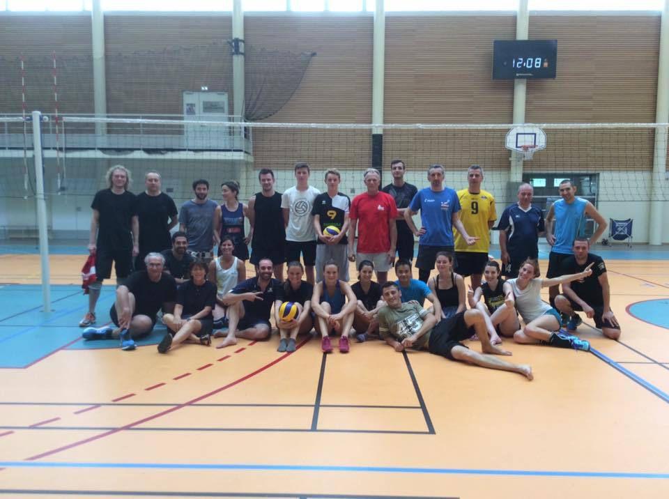 Jumelage Volley Villebon et Liederbach