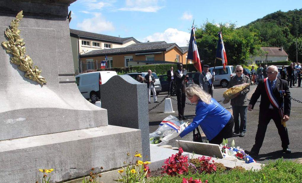 B. Gouraud était présente pour les cérémonies du 14 juillet et pour la cérémonie d'hommage aux victimes de l'attentat de Nice le 17 juillet à Béthisy-St-Pierre .